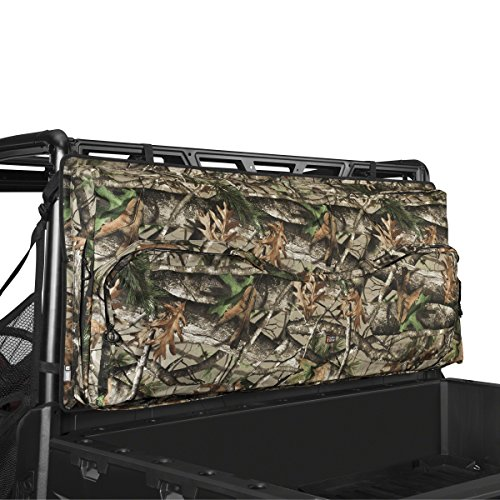 Classic Accessories 18-126-016001-00 Next Vista G1 Camo QuadGear UTV Deluxe Double Gun Carrier (For Most UTV Roll Cages) (Camo Rifle Double)