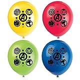 """12"""" Latex Marvel Avengers Balloons, 8ct"""