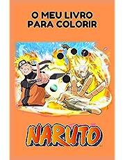 O meu livro para colorir Naruto: Livro para colorir
