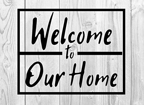 Welcome To Our Home Wood Guestbook: The Perfect Wood Background Picture Guestbook for Airbnb or Vacation Rentals