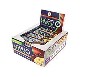 Generation UCAN Snack Bar Box, Chocolate Peanut Butter, With UCAN SuperStarch ®, Low Sugar, Gluten-Free, No Trans Fats, Naturally Sweetened, 1.5 Ounces, 12 Count