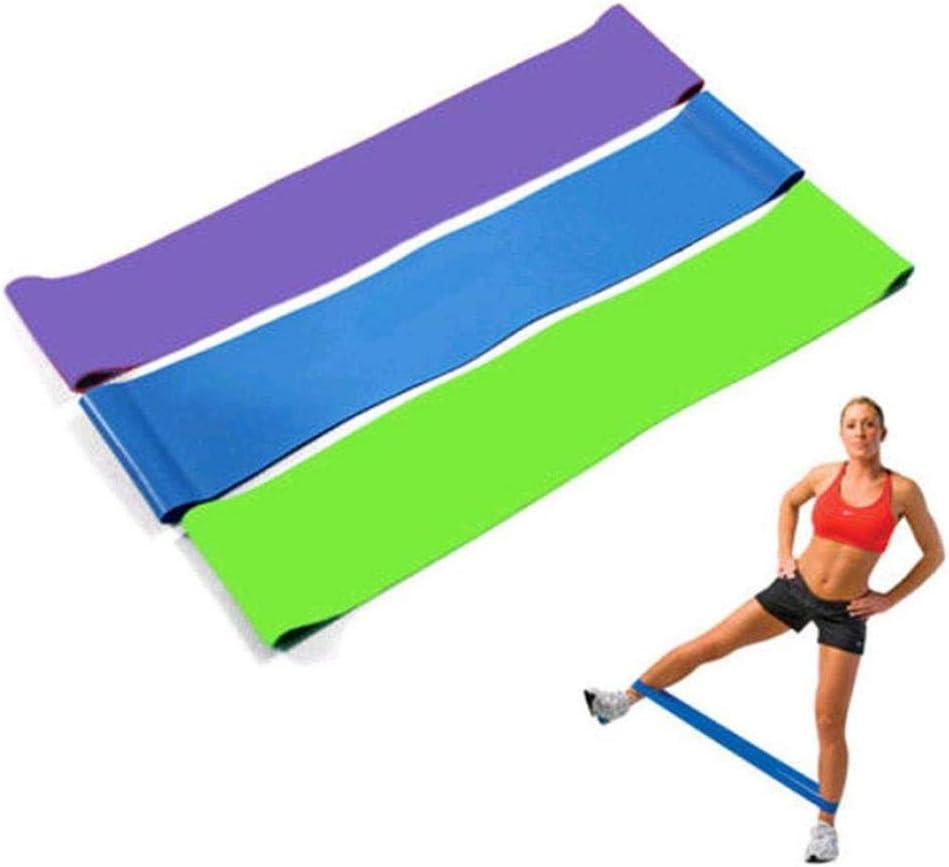 Bande Elastique Fitness Entrainement Corps Bande de Resistance Jambes Fessiers /Équipement dExercices pour Musculation Pilates Squat Sport Crossfit R/é/éducation Physique et Motrice