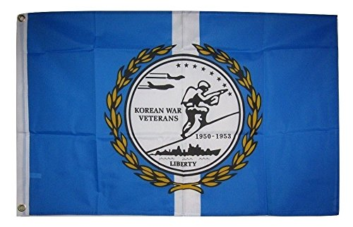 2x3 Korean War Veterans Vet 1950 - 1953 Liberty Memorial Korea Flag (1953 Flags)