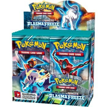 Pokémon Trading Card Game: Black & White— Plasma Freeze Booster Display (36 Packs)