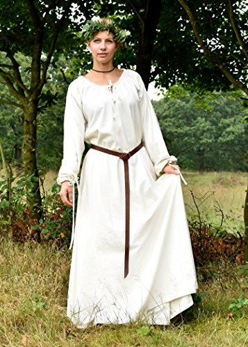 Kleid Mittelalter Baumwolle Natur Battle Div LARP Wikingerkleid Farben aus Wikinger Mittelalterkleid Ana Merchant Zzz1RUqa