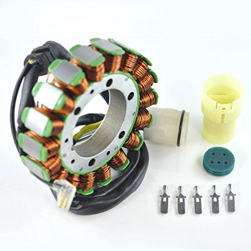 (Generator Stator For Honda TRX 400 450 Fourtrax Foreman 1995-2004 OEM Repl.# 31120-HM7-004 31120-HM7-014 31120-HM7-700 31120-HN0-671 TRX400FW TRX450S TRX450ES TRX450FE TRX450FM 4x4)
