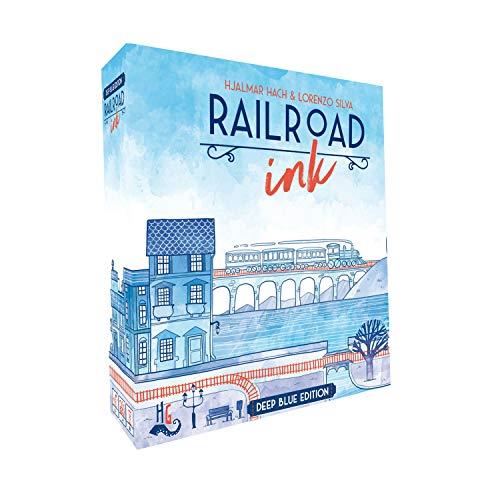CMON RRI001 Railroad Ink: Deep Blue Edition