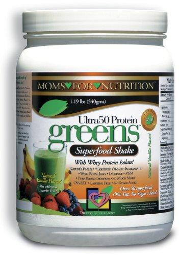 Зеленые встряхнуть порошок Напиток с изолят сывороточного белка и концентрированных фруктовых и растительных экстрактов