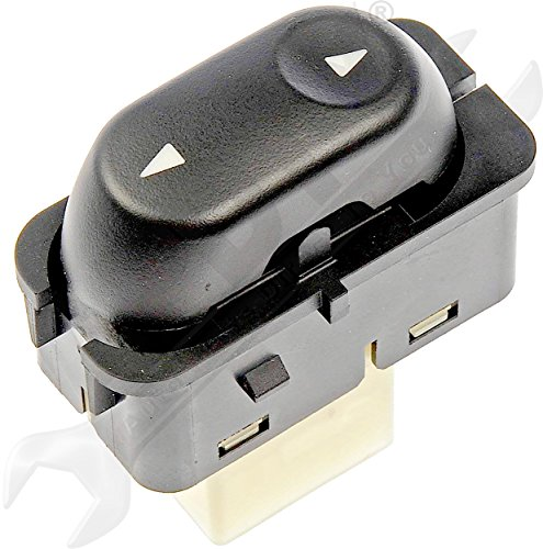 APDTY 012438 Power Window Switch Fits Front Right, Rear Left or Rear Right (Different Positions Per Individual Model; See Description For Details) (Replaces Ford YF1Z-14529-ABA, YF1Z14529ABA)