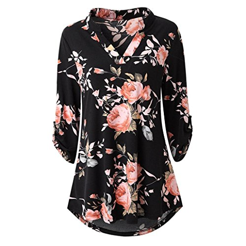 Pleated Silk Dress Tie Neck (UONQD Woman Blouse Black Design White Blouses for Women Ladies Online Shirt Womens tie Neck Floral Dress Silk high Satin Leopard Print Cream Chiffon Long Sleeve (Large,Black-a))