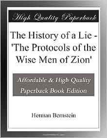 protocols of zion book pdf