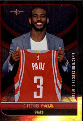 66b001ef4be Amazon.com  2017-18 Panini NBA Stickers  227 Chris Paul Houston Rockets FOIL  Basketball Sticker  Collectibles   Fine Art