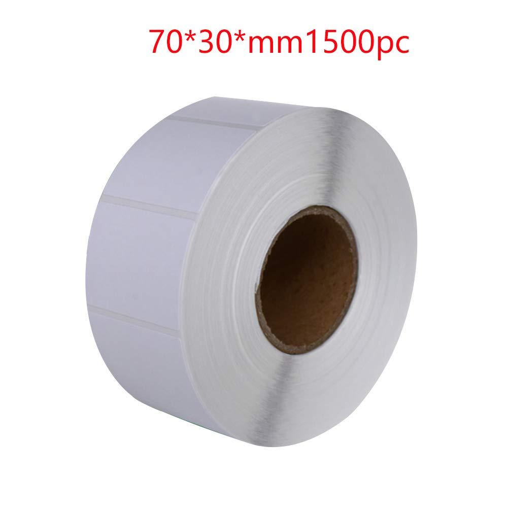 INGHU 1500 piezas de papel térmico, etiqueta autoadhesiva ...