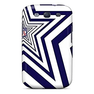 SuperMaryCases Perfect Tpu Case For Galaxy S3/ Anti-scratch Protector Case (dallas Cowboys)