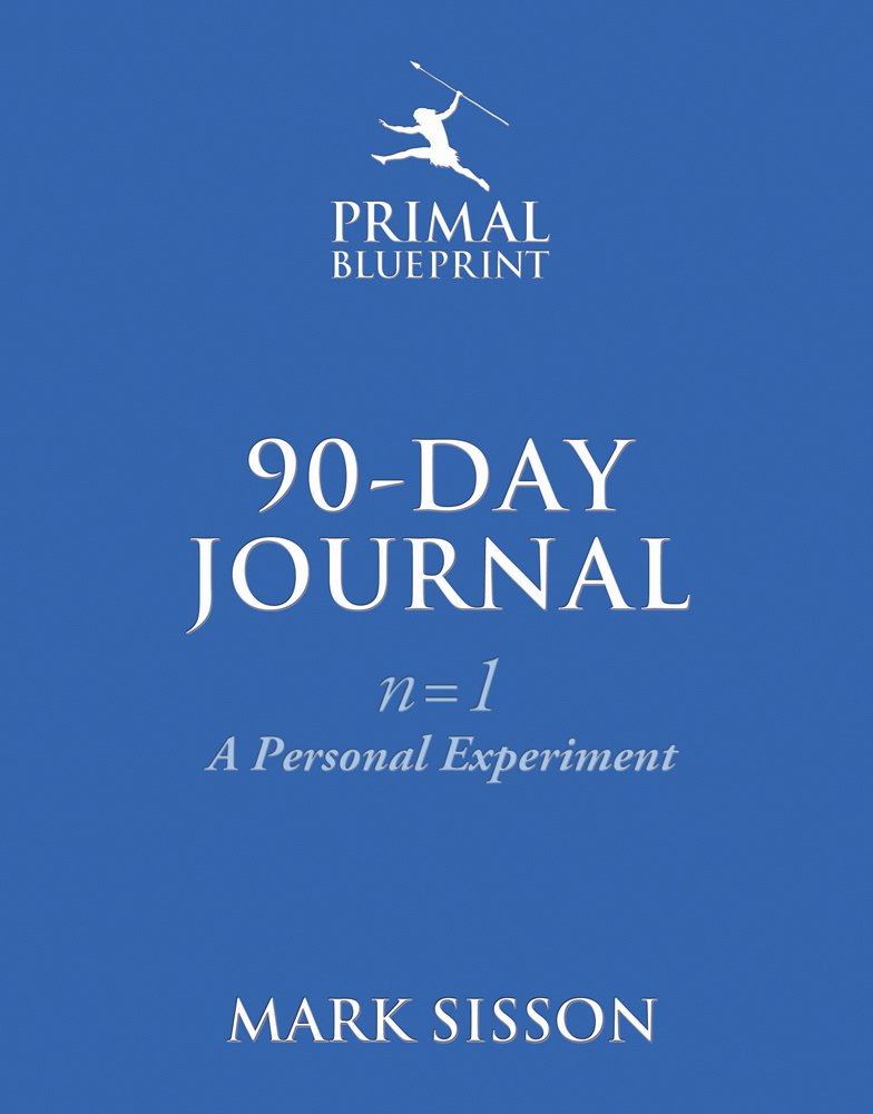 The primal blueprint 90 day journal a personal experiment n1 the primal blueprint 90 day journal a personal experiment n1 mark sisson 9780984755141 amazon books malvernweather Gallery