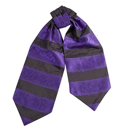 Style Classic Floral Colour Cravat in Mens Classic Damnask Ascot Print Tie Elegant 19 Multi in 5wOqxf0Yx7