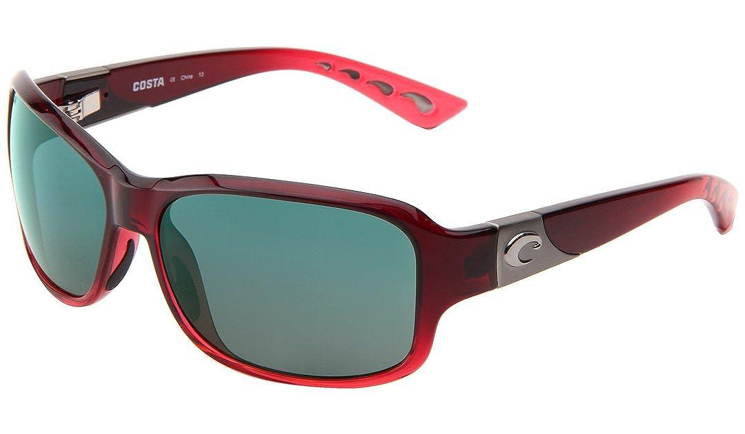 70395b2ef902 Amazon.com: Costa Del Mar Inlet 580P Inlet, Pomegranate Fade Blue Mirror,  Blue Mirror: Sports & Outdoors
