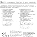 Father's Day Gift - Classical Music and Poems Inspired by Great Artists Renoir, Monet and VanGogh on 3 CD's + FREE BONUS CD {jg} Great for mom, dad, sister, brother, grandparents, aunt, uncle, cousin, grandchildren, grandma, grandpa, wife, husband, relatives and friend.