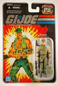 "G.I. JOE Hasbro 25th Anniversary 3 3/4"" Wave 4 Action Figure Gung-Ho [Marine]"
