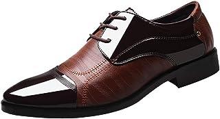 Kinlene Chaussures HabilléEs pour Hommes, Chaussures De Sport à Face Souple, Chaussures en Cuir Chaussures Richelieu PerforéEs DoubléEs en Cuir Classiques pour Hommes Chaussures De Sport à Face Souple