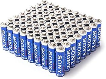 72 Pk. Sony AA Stamina Plus Alkaline Batteries