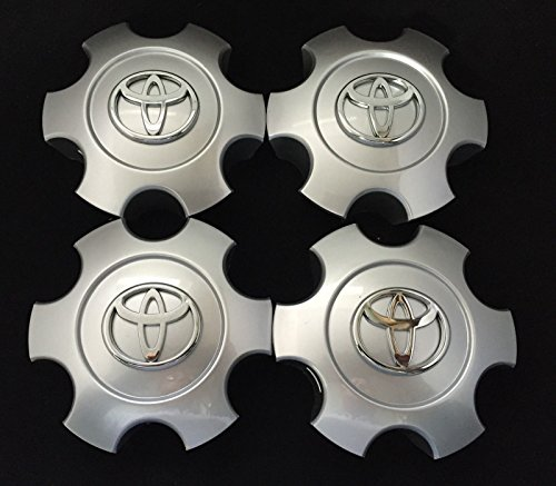 4pcs 03-06 Tundra & 03-07 Sequoia WHEEL CENTER CAP HUBCAP BRIGHT SILVER