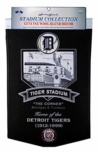 MLB Detroit Tigers Stadium Collection Banner
