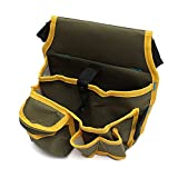 Tool Organizers Hardware Mechanic Canvas Tool Bag Utility Pocket Pouch Bag With Belt