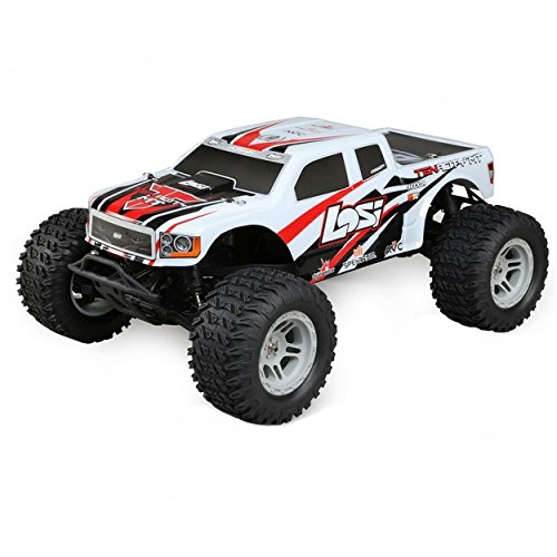 1/10 Tenacity 4WD RC Monster Truck Brushless RTR with AVC, White