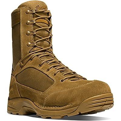 """Desert TFX G3 8"""" Coyote Vibram Striker Torrent Fullsole   Made in USA Leather Boots"""