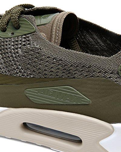 Nike Mænds Air Max 90 Ultra 2,0 Flyknit Løbesko Medium Oliven 200