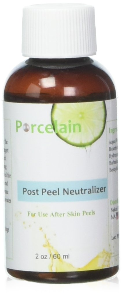 2 oz Professional Post Peel Neutralizer for Glycolic, Lactic and Salicylic Acid Naked Face
