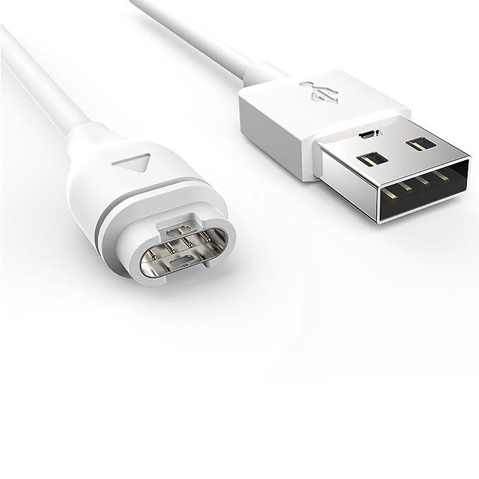 TUSITA Charger for Garmin Fenix 5 5S 5X Plus//Forerunner 935//Approach S60//Quatix 5,5 Sapphire//Vivoactive 3//Vivosport//D2 Charlie//Impact Replacement USB Data Sync Charging Cable Wire Cord