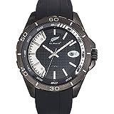 All Blacks - 680286 - Montre Homme - Quartz Analogique - Cadran Noir - Bracelet Silicone Noir