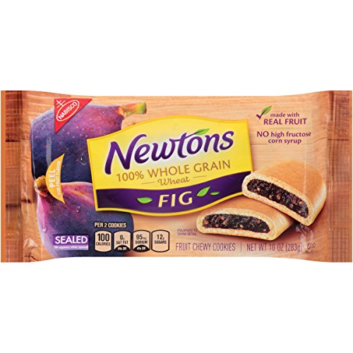 Fruit Whole Grains - Newtons Fruit Chewy Cookies, Whole Grain, Fig, 10 Ounce