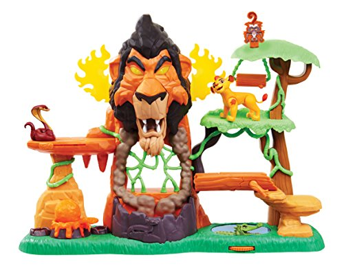 Just Play Lion Guard The Rise Of Scar Playset, Multicolor (Amazon Exclusive)