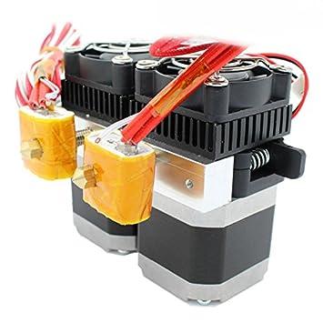 3D-Drucker 3D-Druck & Digitalisierung MK8 Dual Extruder mit 0.4mm Düse für 1.75mm Filament