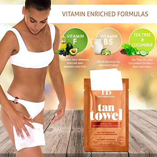 Tan Towel Medium, 2.5 fl. oz.