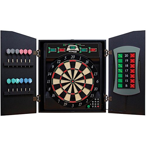 BULLSHOOTER CRICKET MAXX 5.0 ELECTRONIC DARTBOARD CABINET by Bullshooter