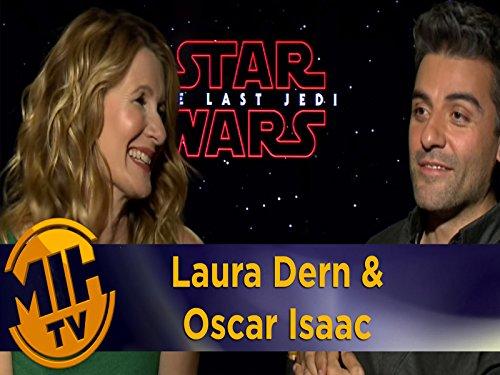 Laura Dern and Oscar Isaac
