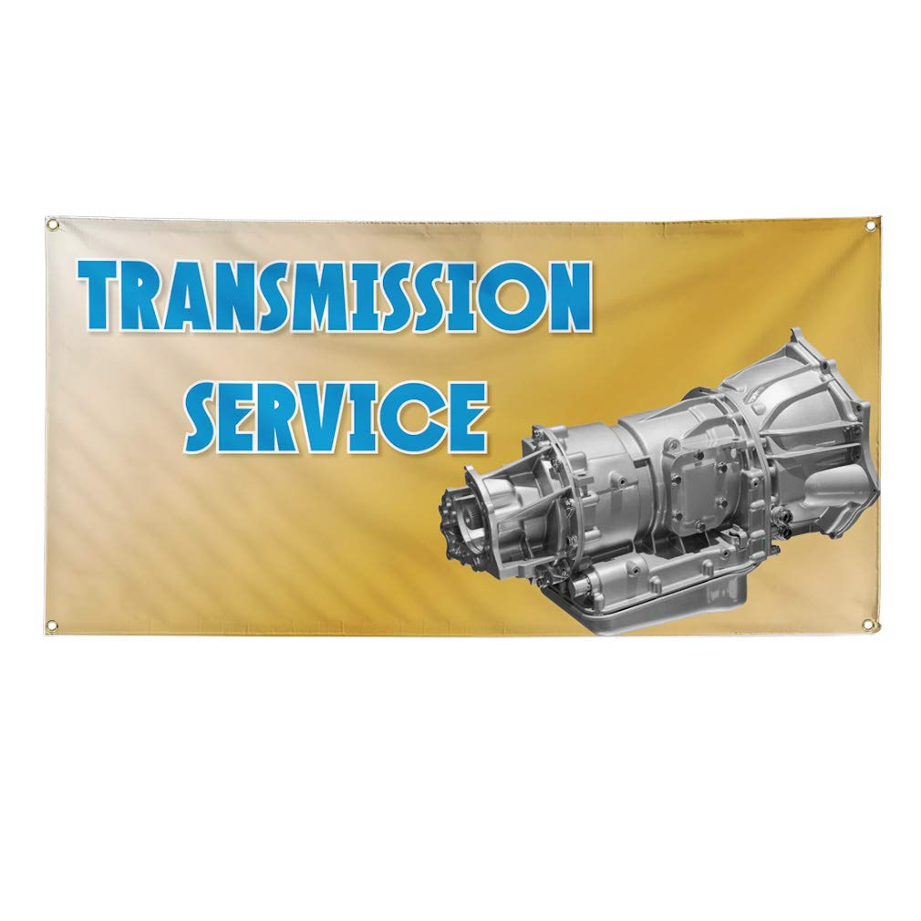 30inx20in Set of 10 Decal Sticker Multiple Sizes Transmission Service /& Repair #1 Automotive Transmission Service Repair Outdoor Store Sign Blue