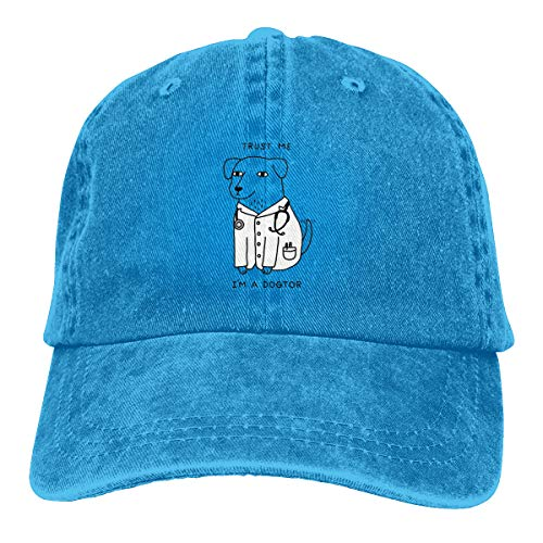 GoDiao Dog Sports Adjustable Denim Cap Hat