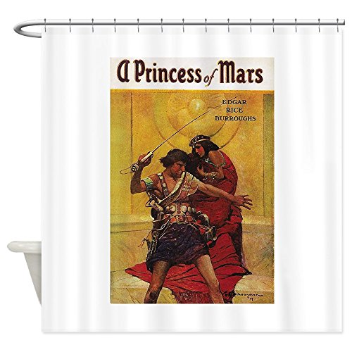 Mars Curtain - CafePress A Princess Of Mars Decorative Fabric Shower Curtain (69