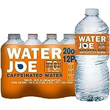 Water Joe | #1 Premium Caffeinated Water | 20 Oz, 12-Pack, 70mg Caffeine Enhancer | Sugar Free Substitute to Coffee, Soda, Energy Drinks and Avitae