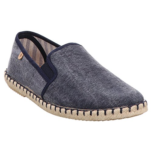 VERBENAS Men's 010CCT-0017-0006 Loafer Flats Blue Blue Blue