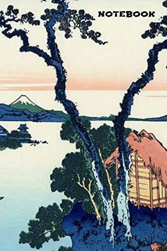Notebook: Mount Fuji Book Notepad Notebook Composition and Journal Gratitude Diary por Retrosun Designs