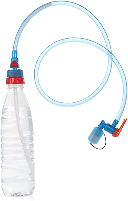 3 PCS Hydration Water Bladder Tube Strap Clip Camelbak Tube Drink Straw Clips