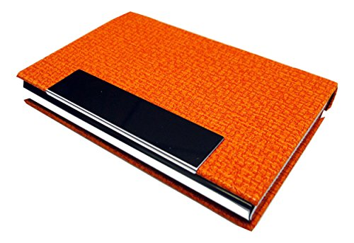 business-name-card-holder-oracle-pu-leather-magnetic-case-style-n-orange