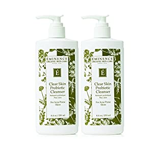 Eminence Clear Skin Probiotic Cleanser, 8.4 Ounce (2 pack)