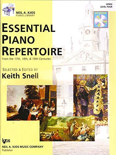 Essential Piano Repertoire - GP454 - Essential Piano Repertoire of the 17th, 18th, & 19th Centuries Level 4